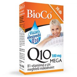 BioCo Vízzel elegyedő Mega Q10, 100 mg (30 db)