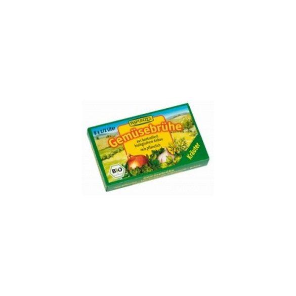 Rapunzel Bio zöldségleves kocka zöldfűszeres (8 db)