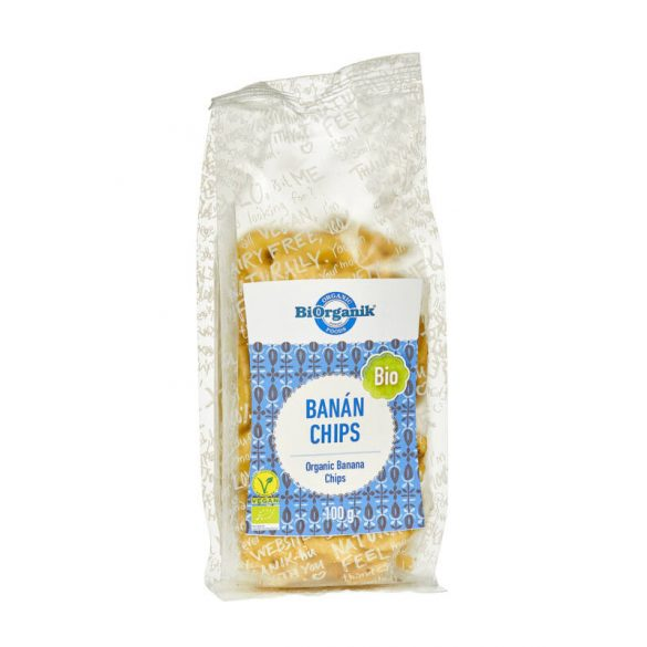 Biorganik BIO banánchips (100 g)