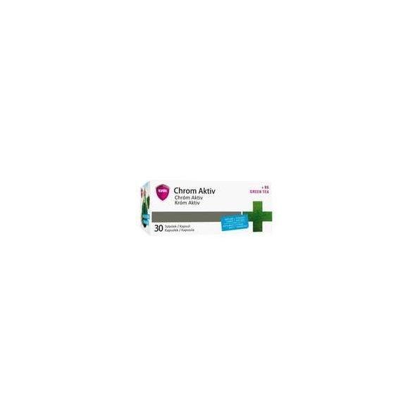 Virde Króm aktív kapszula (30 db)