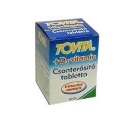 Tovita Csonterősítő Tabletta + D3 Vitamin (60 db)