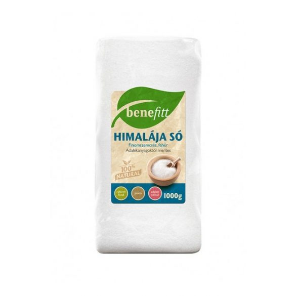 Benefitt Himalája só fehér, finom (1000 g)