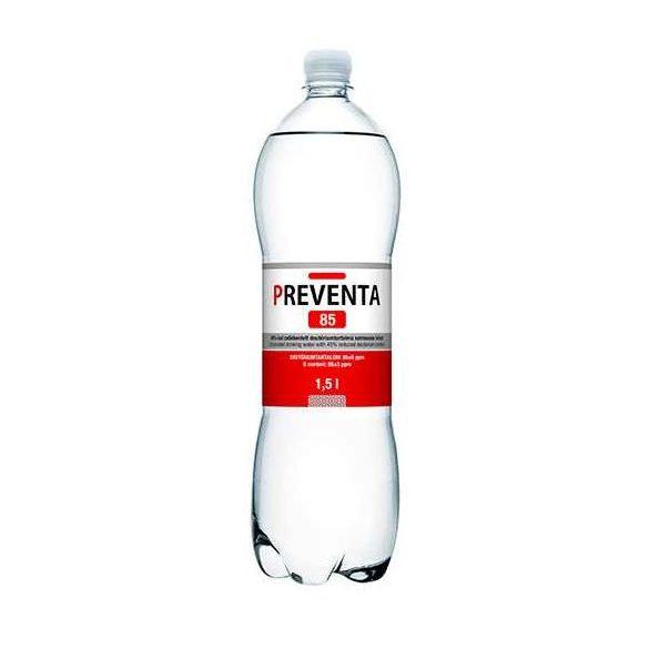 Preventa 85 Csökkentett deutérium tartalmú szénsavmentes ivóvíz (1500 ml)