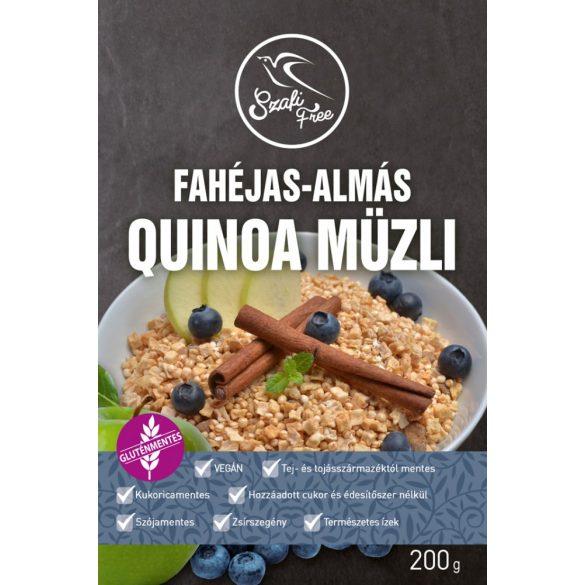 Szafi Free Fahéjas-almás quinoa müzli (200 g)