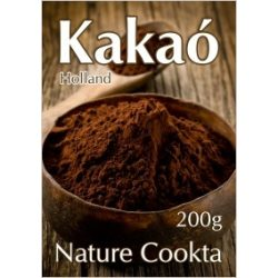 Nature Cookta Holland kakaópor 20-22% (200 g)
