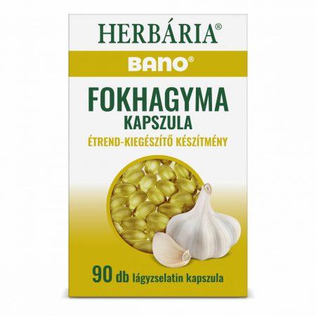 Bano Fokhagyma kapszula (90 db)