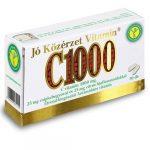 Jó Közérzet Vitamin® C Vitamin 1000 mg 25 mg csipkebogyóval és 25 mg citrus bioflavonoiddal (30 db)