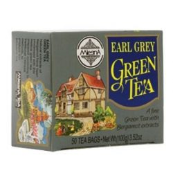 Mlesna Zöld tea Earl Grey (50 filter)
