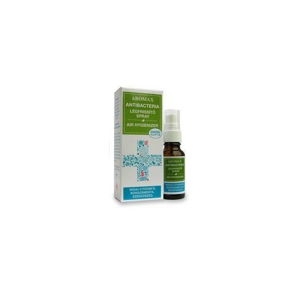Aromax Antibacteria levegőtisztító spray Indiai citromfű-borsosmenta-szegfűszeg (20 ml)