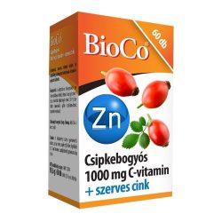 BioCo Csipkebogyós 1000 mg C-vitamin + Cink tabletta (60 db)