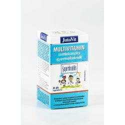 JutaVit Multivitamin Immunokomplex gyerekeknek probiotikummal (45 db)