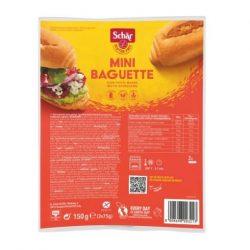 Schär gluténmentes Mini Baguette duo (2 x 75 g)