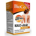 BioCo Kalci-citrát+D-3 vitamin Megapack (90 db)