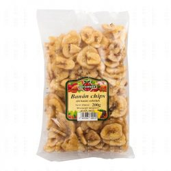 Naturfood Banán chips (200 g)