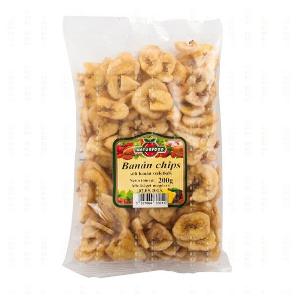 Naturfood Banán chips (200 g)
