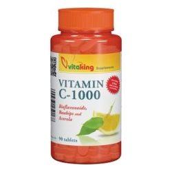 vitaking C-1000 vitamin tabletta bioflavonoidokkal, acerolával és csipkebogyóval (90 db)