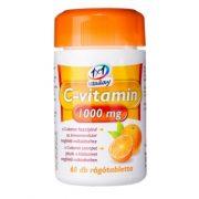 1x1 Vitaday C-vitamin 1000 mg narancs ízű rágótabletta (60 db)