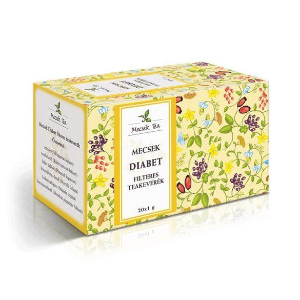 Mecsek Tea Diabet teakeverék filteres (20 x 1 g)