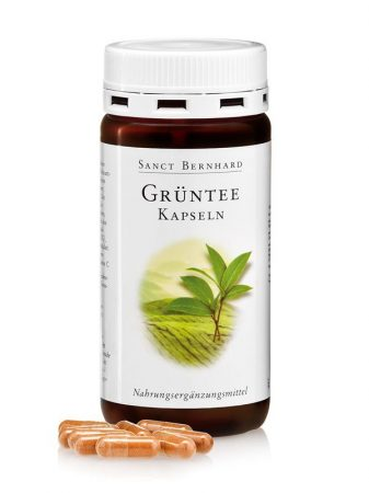 Sanct Bernhard Zöldtea 400 mg kapszula (120 db)