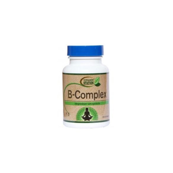 Vitamin Station B-complex tabletta (60 db)