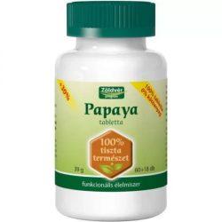 Zöldvér Papaya 100 % tabletta (78 db)