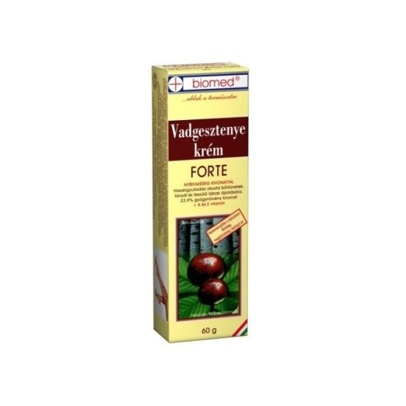 Biomed Vadgesztenye krém forte (60 g)