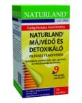 Naturland Májvédő és detoxikáló filteres teakeverék (25x1,5 g)