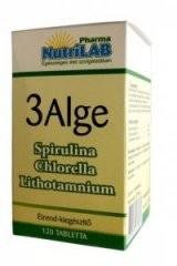 NutriLAB 3 Alge kapszula (120 db)