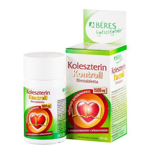 Béres Egészségtár Koleszterin kontroll filmtabletta (60 db)