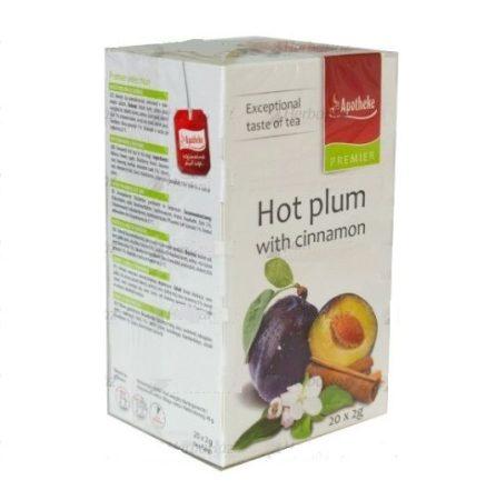Apotheke Forró szilva fahéjjal filteres tea (20 db)