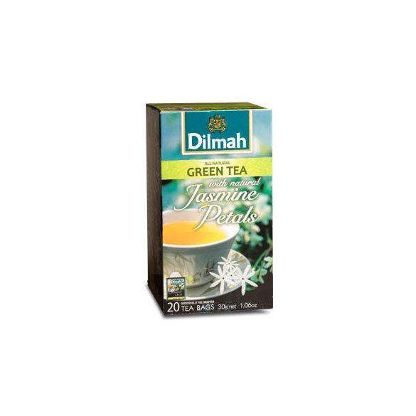 Dilmah Zöld tea, Jázmin aromás, filteres (20 db x 1,5 g)