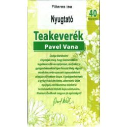 Pavel Vana tea Nyugtató (40 db)