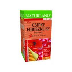 Naturland Csipke-Hibiszkusz filteres teakeverék (20 db)