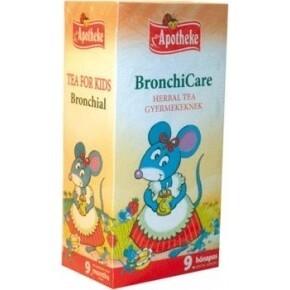 Apotheke BronchiCare Herbal filteres tea gyermekeknek (20 db)