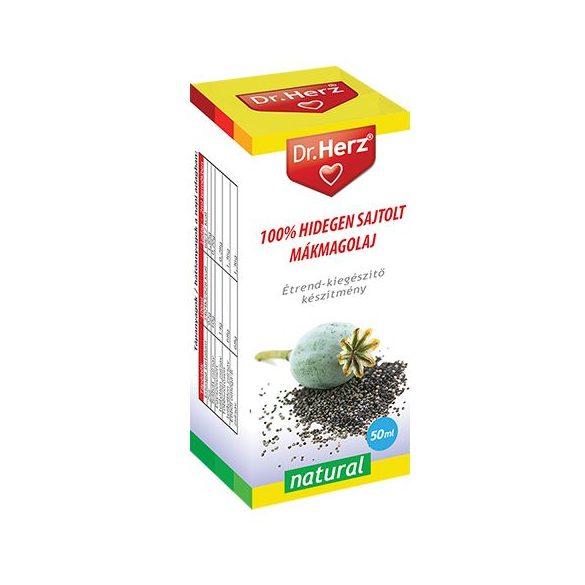 Dr. Herz 100% Hidegen sajtolt mákmagolaj (50 ml)
