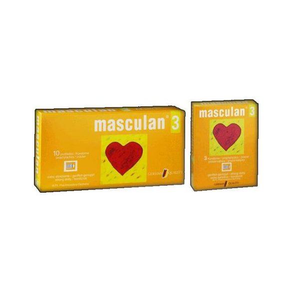 Óvszer Masculan 3-as (10 db)