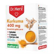 Dr. Herz Kurkuma + C-vitamin kapszula (60 db)