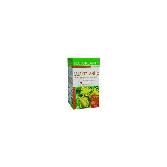 Naturland Salaktalanító plusz tea, filteres (20x1,5 g)