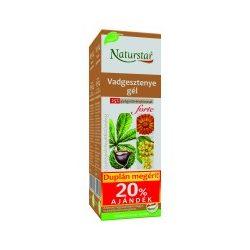 Naturstar Vadgesztenye gél forte dupla (2x60 ml)