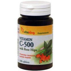 vitaking C-500 csipkebogyóval tabletta (100 db)
