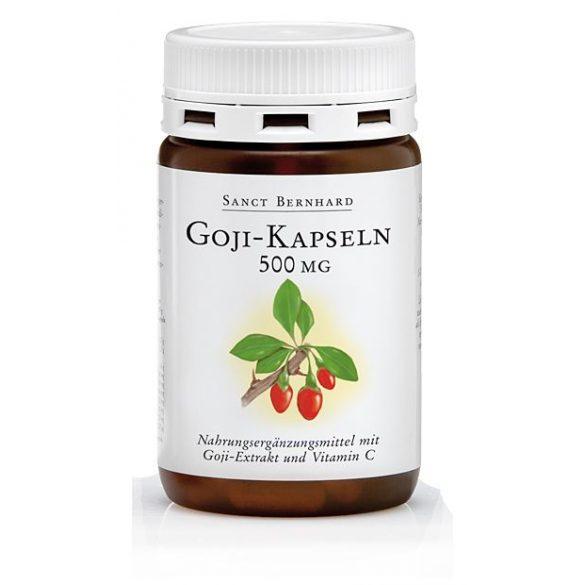 Sanct Bernhard Goji 500 mg kapszula (90 db)