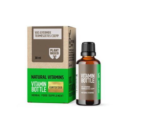 Vitamin Bottle Vas cseppek (30 ml)
