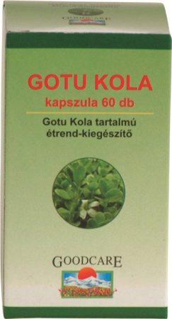 Dabur Ayucare Goodcare Gotu Kola vegán kapszula (60 db)
