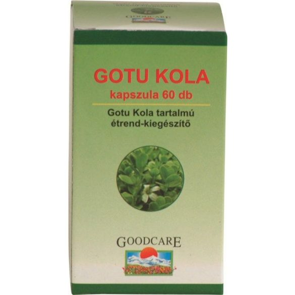 Goodcare Gotu Kola vegán kapszula (60 db)