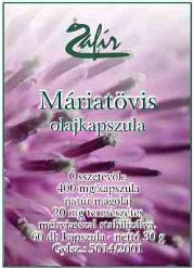 Zafír Máriatövis olajkapszula (60 db)