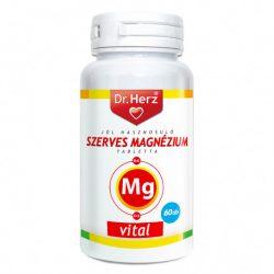 Dr. Herz Szerves Magnézium + B6 + D3 tabletta (60 db)