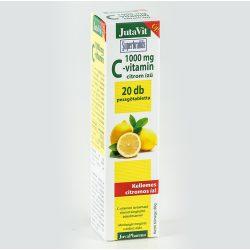 JutaVit C-vitamin 1000 mg pezsgőtabletta (20 db)