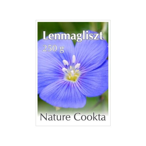 Nature Cookta Lenmagliszt (100 g)