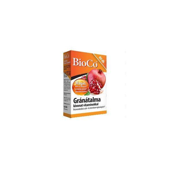 BioCo Gránátalma kivonat tabletta vitaminokkal (80 db)