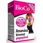 BioCo Ananász kivonat papayával tabletta Megapack (100 db)